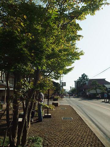 松川渓谷の紅葉と湯田中渋温泉郷の花火
