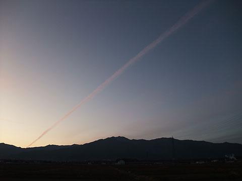 空の写真(南箕輪村)