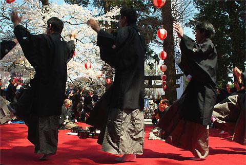 山寺やきもち踊り(伊那市)
