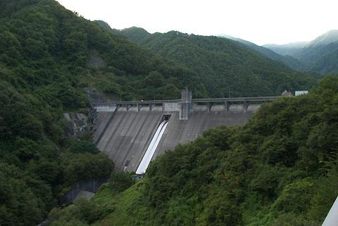片桐ダム(下伊那郡松川町)