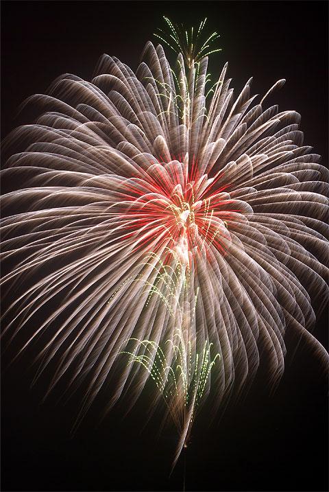 花火の写真(長野県)