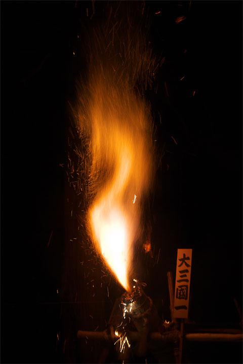 本郷神社奉納大煙火(飯島町)