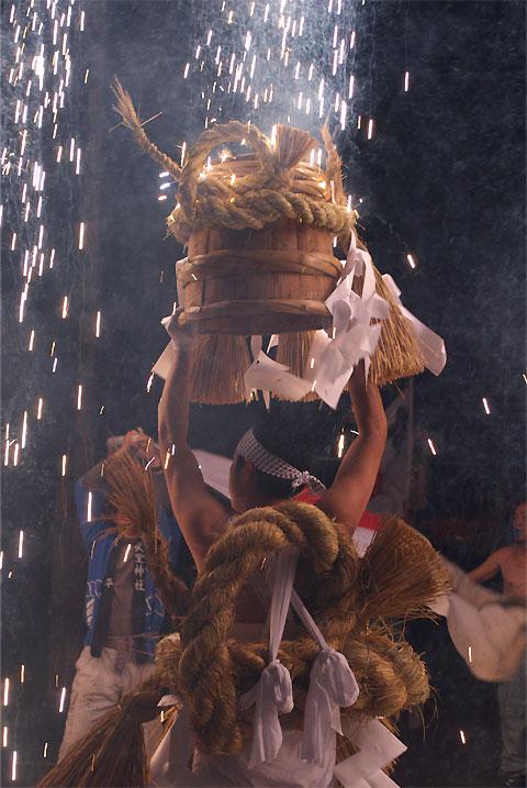山本 七久里神社 裸まつり(飯田市)
