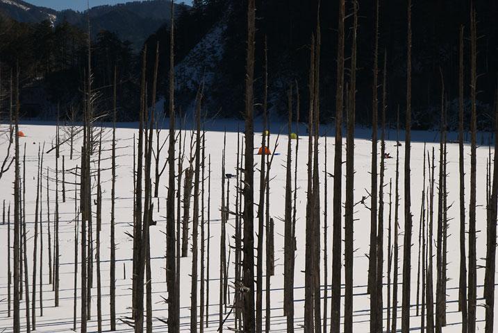 自然湖(木曽郡王滝村)