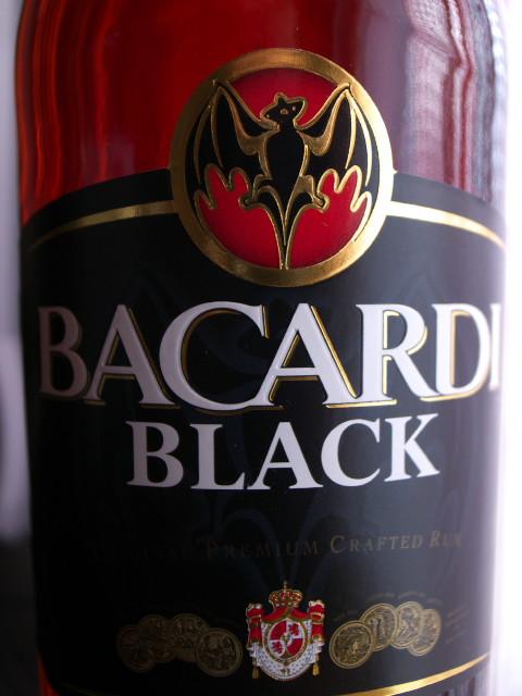 BACARDI BLACK RUM(BACARDI)