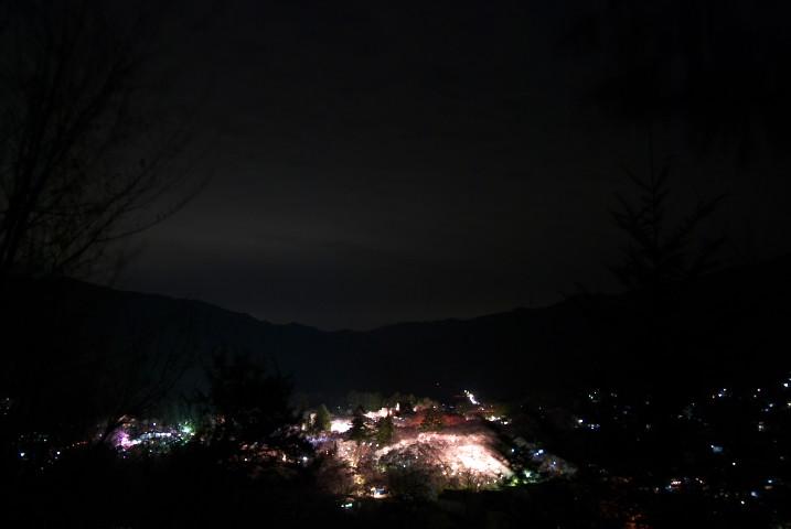 高遠城址公園、光の庭(伊那市高遠町)