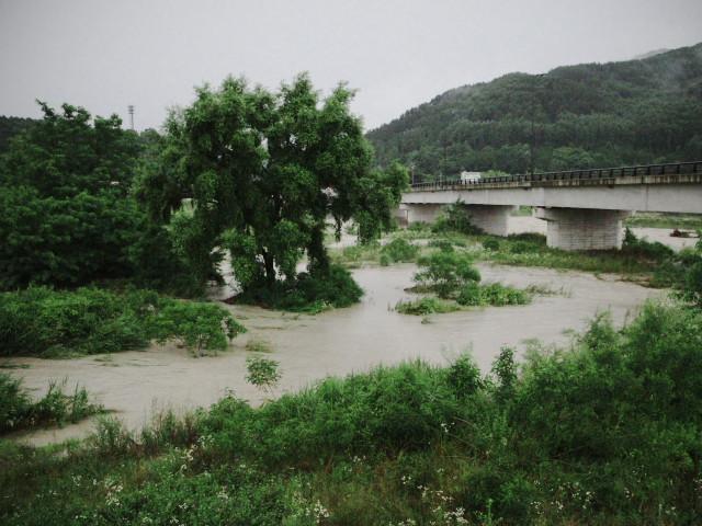 大雨警報(伊那市)
