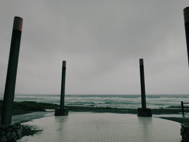 佐渡島旅行、⑤(颱風四号) - 2010/8/12(木)