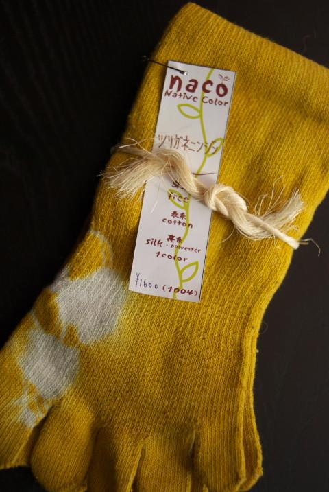 naco の靴下