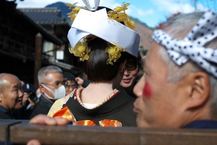 文化文政風俗絵巻之行列(木曽郡南木曽町;妻籠宿) - 2010/11/23(火)