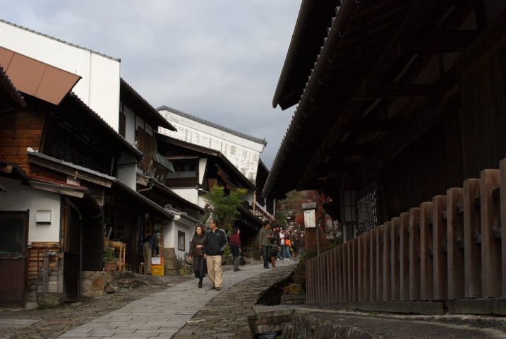 馬籠宿(岐阜県中津川市) - 2010/11/23(火)