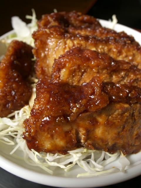 「ソースカツ丼」(『中華料理 田村(田村食堂)(伊那市)』)