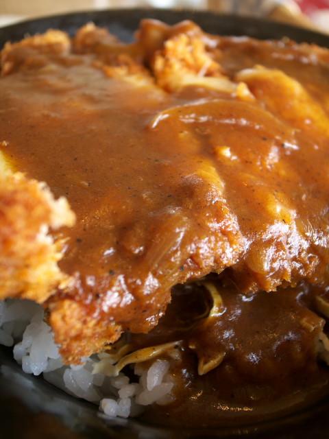 「ソースカツ丼」(『印度屋(伊那市)』)