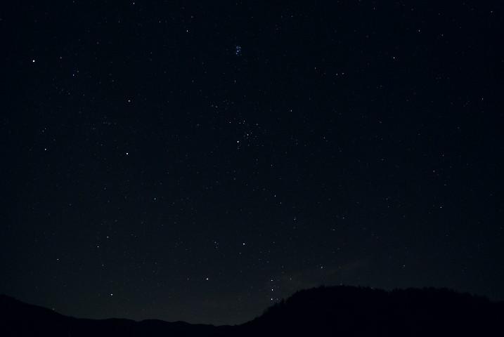 [空の写真] 山室の星空(伊那市高遠町) - 2010/12/10(金)