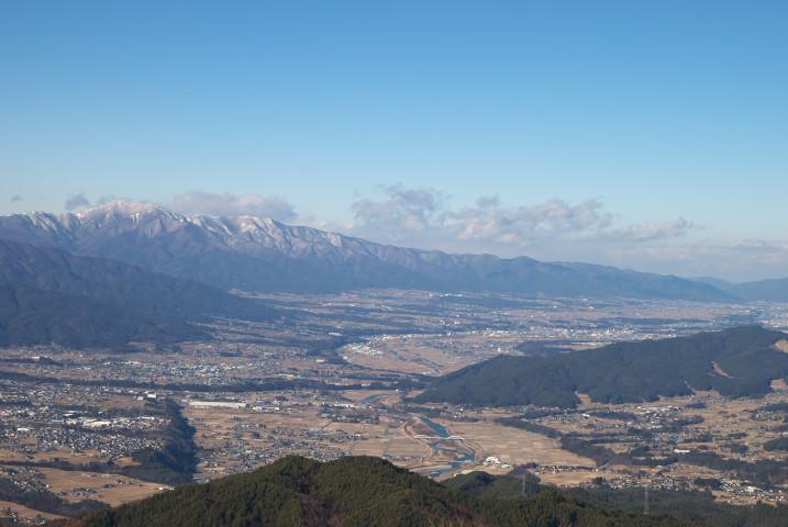 陣馬形山(中川村)
