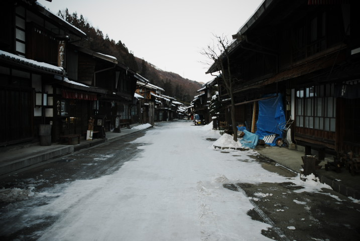 奈良井宿 with uo(塩尻市) - 2011/2/13(日)