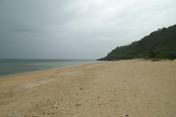 久米島旅行、②(はての浜+畳石) - 2011/5/2(月)