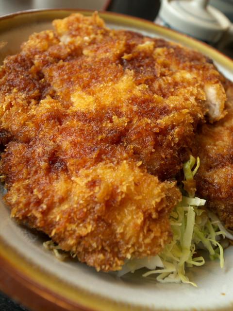 「ソースカツ丼」(『和風レストラン ジョイかすが(宮田村)』)のソースカツ丼の写真