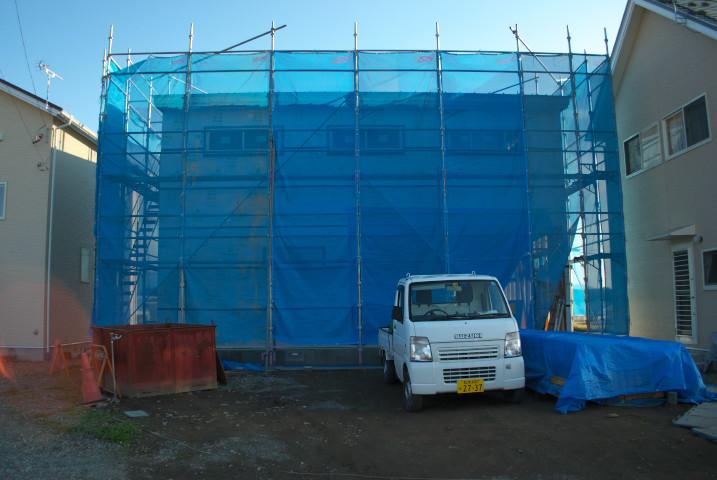 [工事進捗] 上棟検査の立ち会い(あっとホーム) - 2011/10/29(土)