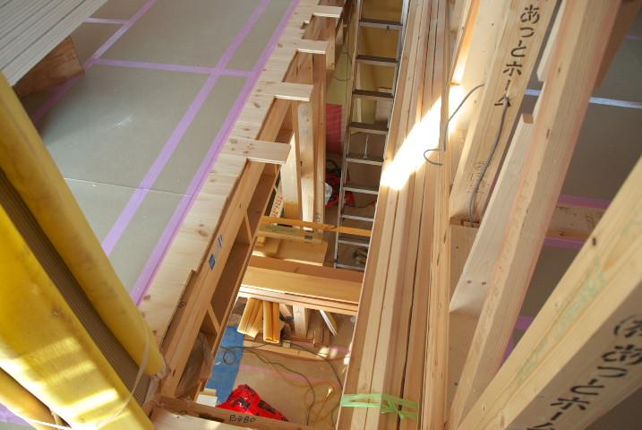 [工事進捗] 石膏ボードと外壁のモルタル - 2011/12/10(土)