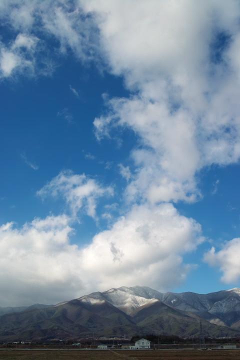 [空の写真] シュガーパウダー(伊那市) - 2011/12/9(金)