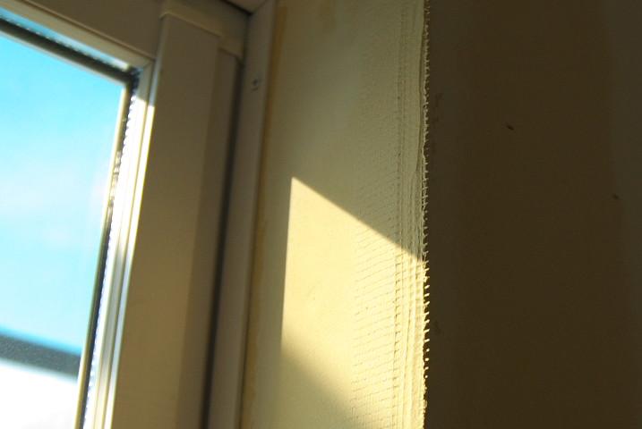 [珪藻土1] 塗る準備 → 二階の養生貼り - 2012/1/1(日)