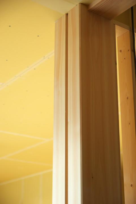 [珪藻土2] 二階の養生貼り終了 進捗絶望的 - 2012/1/2(月)