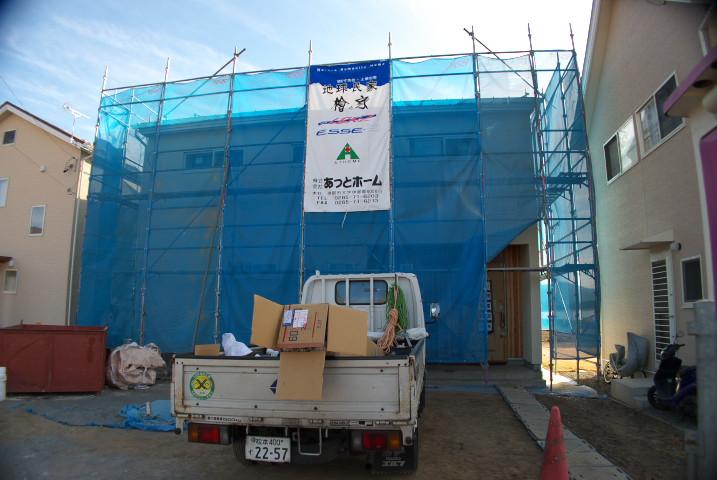 [工事進捗] 中央板金(伊那市)の不可思議な行動 - 2012/1/18(水)