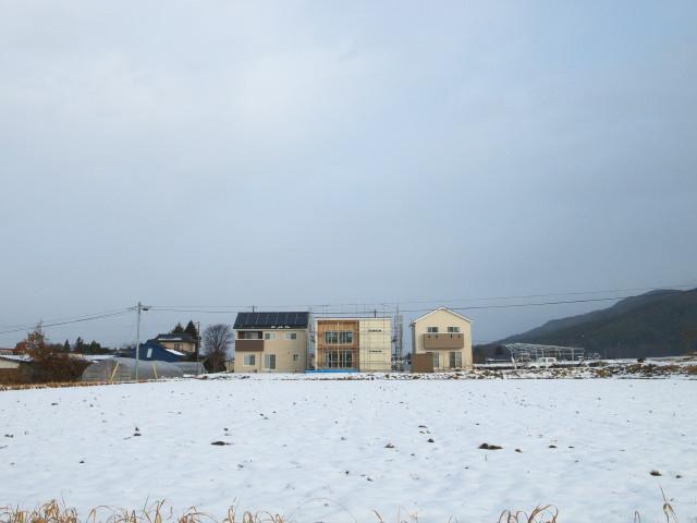 [工事進捗] 足場の撤去される日 - 2012/1/23(月)