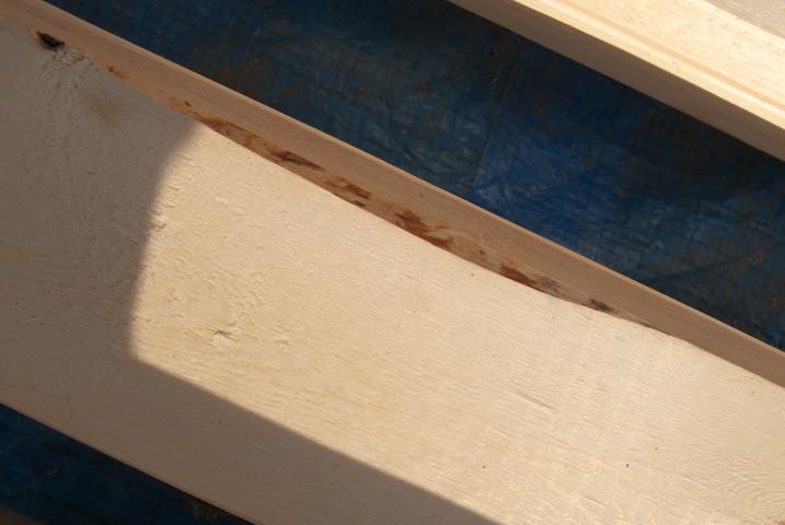 [施主施工13] デッキの床板塗装 - 2012/1/28(土)