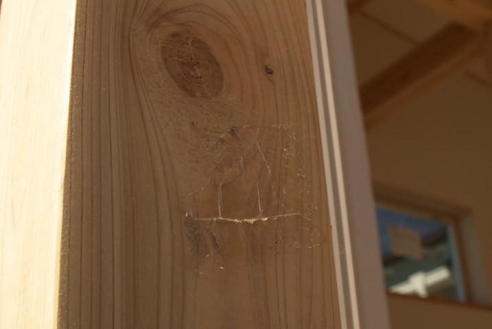 [施主施工14] バルコニーの床と手摺りの塗装 - 2012/1/29(日)