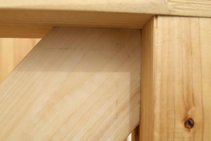 [施主施工16] デッキ手摺りの塗装 - 2012/2/2(木)