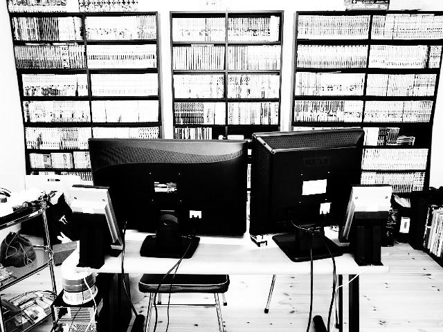 [冬来たって] 書斎エアコン設置不可、なう [春遠いじゃん]