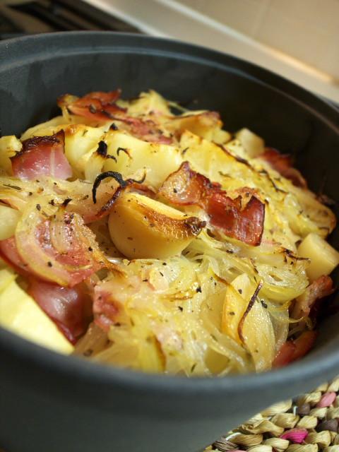 ダッチオーブン 若鶏のオーブン焼