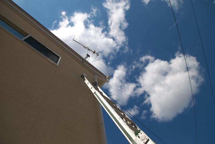 エアコン移設作業 DK → L - 2012/4/5(木)