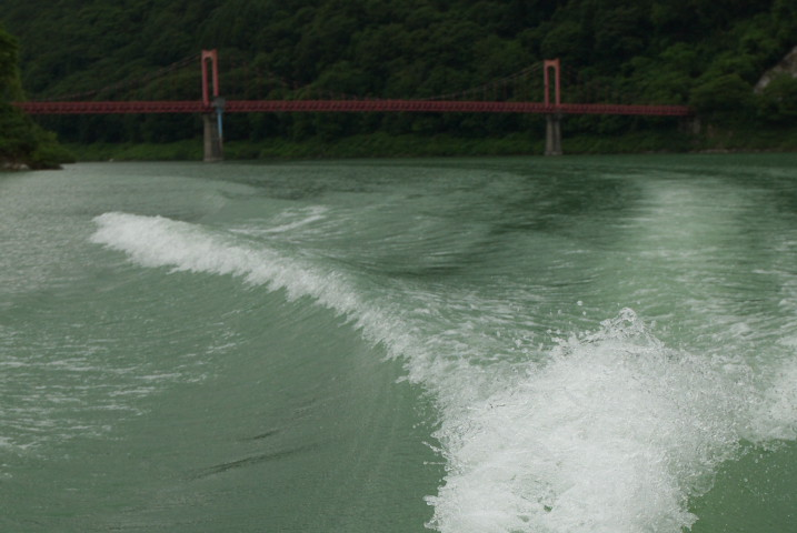 美和ダム湖上巡視体験・ダム探検ツアー(伊那市長谷) - 2012/7/22(日)