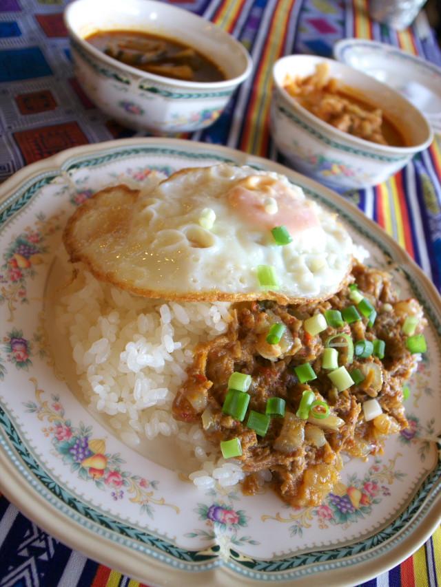 アゲイン タイ家庭料理 ティンの店(中川村)の料理の写真とか