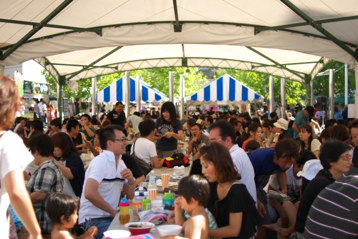 松本サマーフェスト(松本市)の料理の写真とか