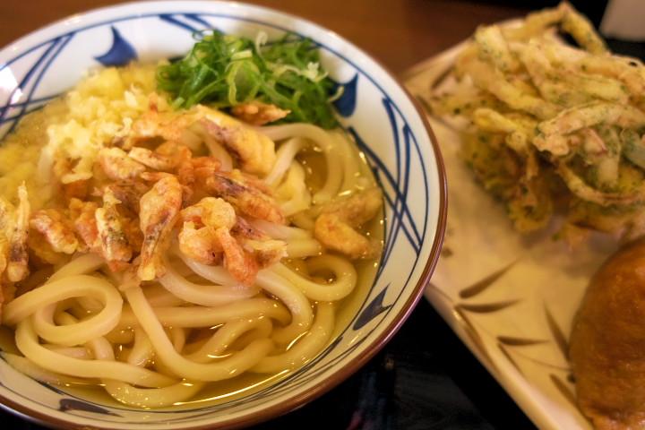 讃岐釜揚げうどん 丸亀製麺 伊那店(伊那市)の料理の写真とか