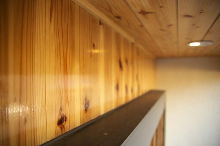 [外壁木部のメンテ1] 北面(オスモカラー) - 2012/11/25(日)