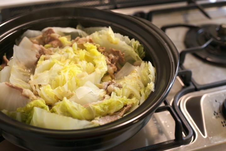 豚と白菜の鍋