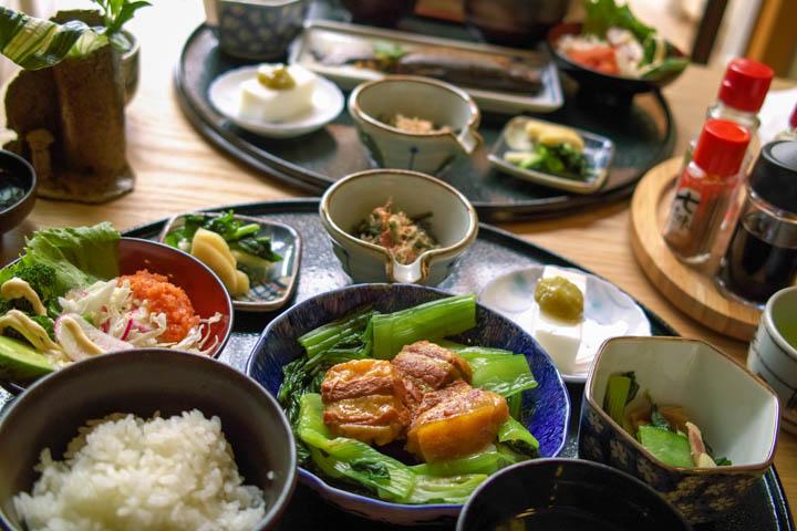 信州高遠藤沢郷 やさい村 こかげ(伊那市高遠町)の料理の写真とか