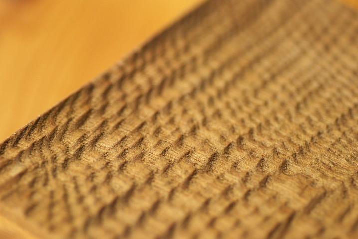 [もみじクラフト] 黄檗の木皿(木まぐれ)