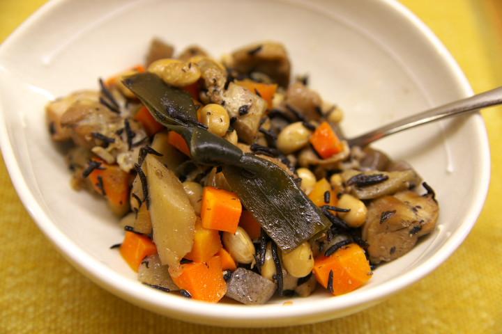 大豆の含め煮