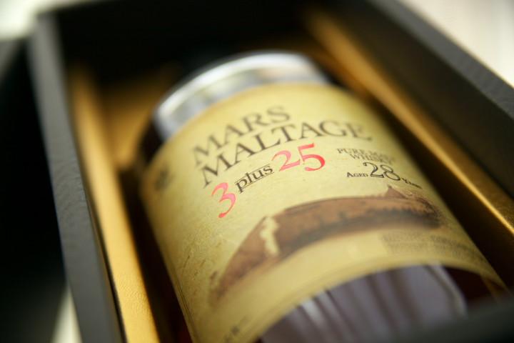 [ウイスキー] マルス モルテージ 3プラス25 28年(本坊酒造)