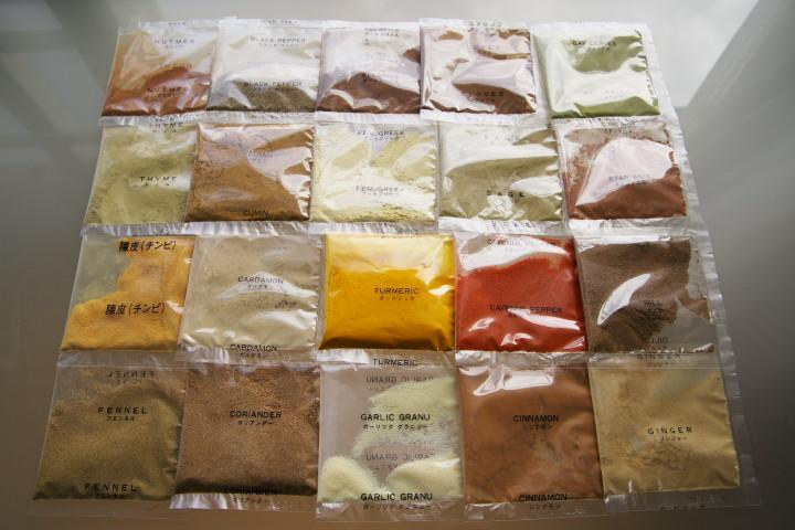 手作りのカレー粉セット(ギャバン)