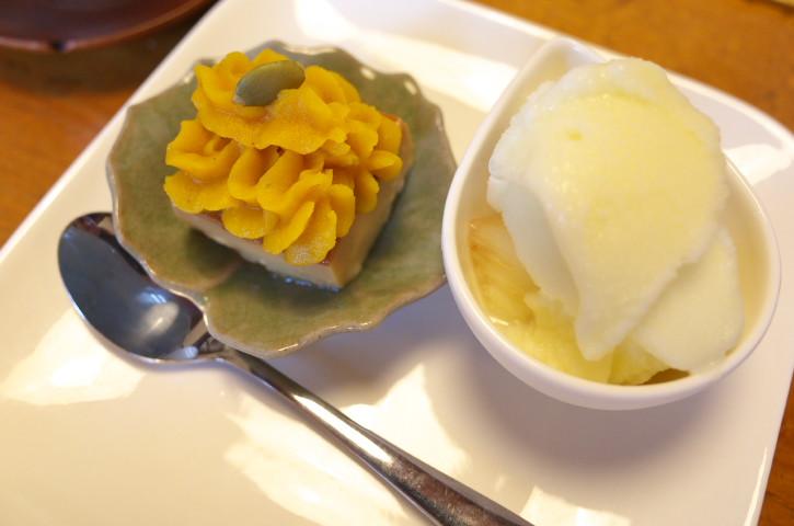 日々茶寮 連(にちにちさりょうれん)(伊那市)の料理の写真とか