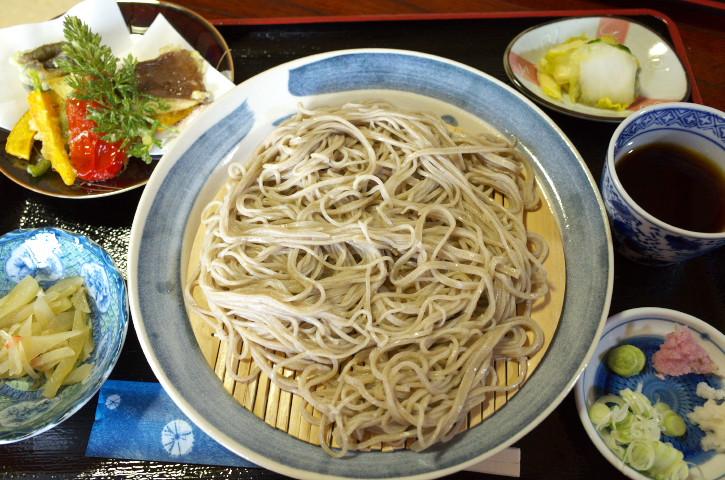 杣蕎麦(そまそば)(伊那市長谷)の料理の写真とか