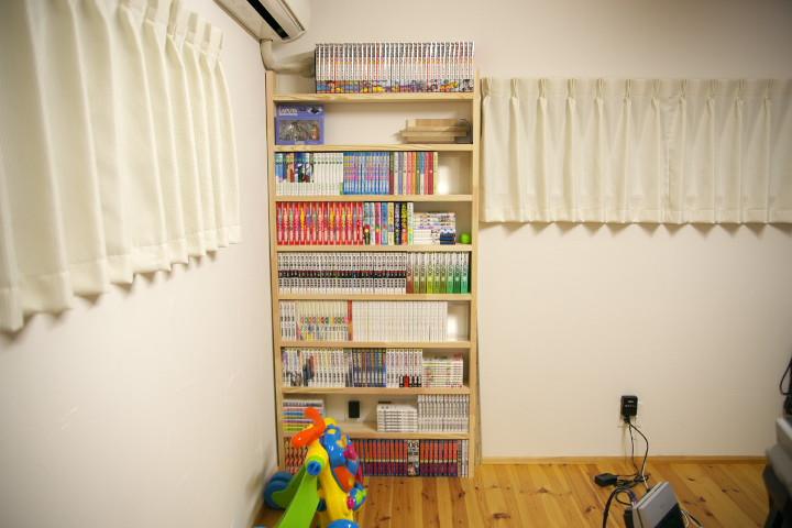 [DIY] 書斎の本棚