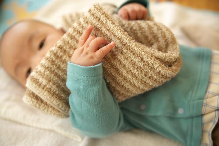 赤ちゃん(乳児)の写真